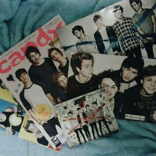 5SOS Album + Magazines