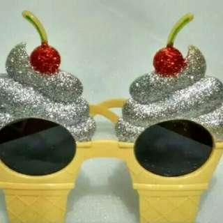 Kacamata ice cream corn