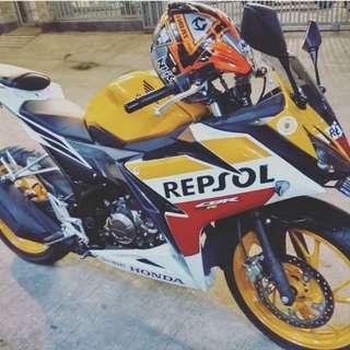 OVER CREDIT MOTOR HONDA CBR 150 R