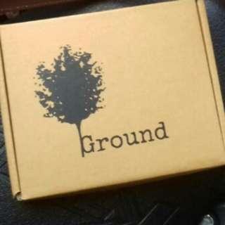 Ground leather