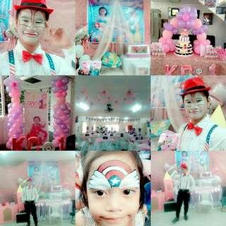Clown Magician & Balloon Decoration