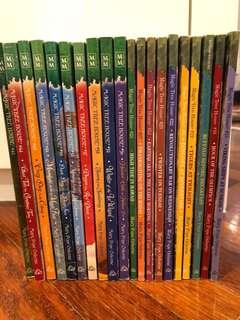 Magic Tree House series (20 books)