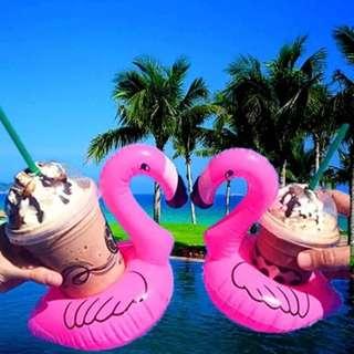 Flamingo Floating Cup Holder