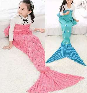 Mermaid Tail Blanket (Kids/Adult)