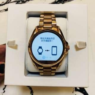 MK 智慧手錶玫瑰金 購於百貨專櫃原價