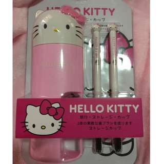 Hello Kitty Toothbrush with case