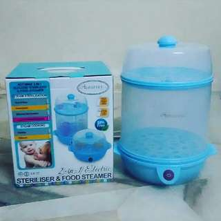 Sterilizer and food steamer 2in1autumnz botol susu