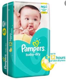Pampers Baby Dry S