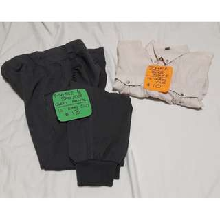 ZARA Blouse & M & S Pants