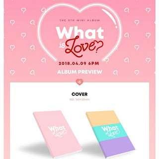 Twice - What Is Love Album