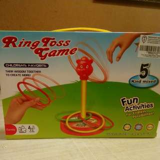 Ring Toss game for family