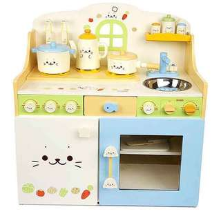 實木廚房玩具