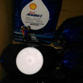Diskonnnnn !!!! Shell advance 10w40 ax7 buat motor matic