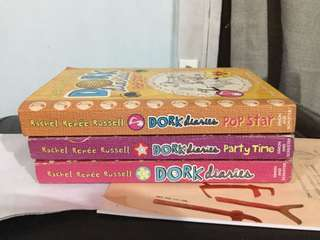 Dork Diaries (Pop star, Party Time and book 1)