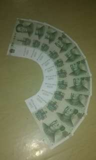 10 runs $1 Chinese yuan note