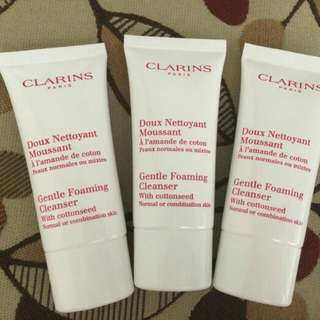Clarins Gentle Foaming Cleanser With Cottonseed 30ml
