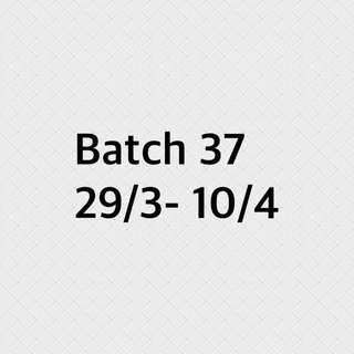 Batch 37