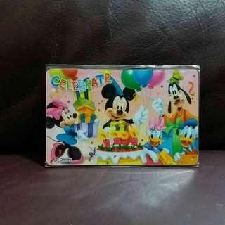 迪士尼 Disney 米奇 Mickey $100 禮品咭 收藏咭 珍藏咭