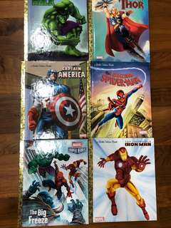 Little Golden Book - Marvel