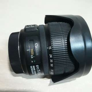 EFS 15 - 85mm for canon