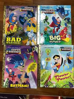 Little golden books - DC super friends