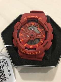 Brand New_G Shock GA-110AC-4 Striking Red