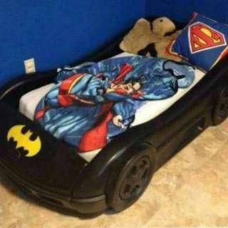 Bed Car Betman&Robin
