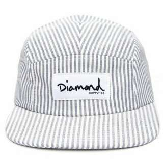 Stripe Diamond Clipback Cap  by Diamond Supply Co