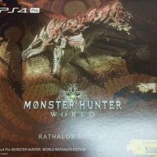 PS4 魔物獵人同捆機 1TB (含數多商品)
