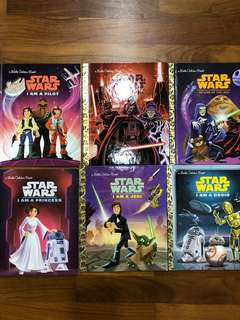 Little Golden books - Star Wars