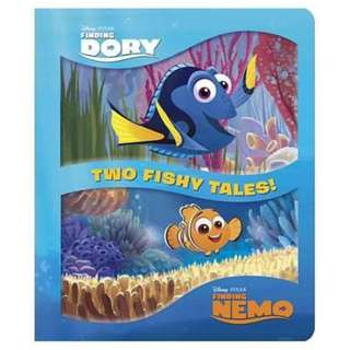 @@@(Brand New) Two Fishy Tales! Padded Board Book  By: Disney Storybook Artists, Andrea Posner-Sanchez  -  Board Book