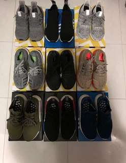 Adidas Ultraboost and NMD US8/US7.5/US6.5