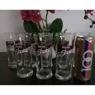 New Unused Tall Glasses (Bundle of 8 Pieces)