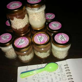 Chocolate rice jar cenonet