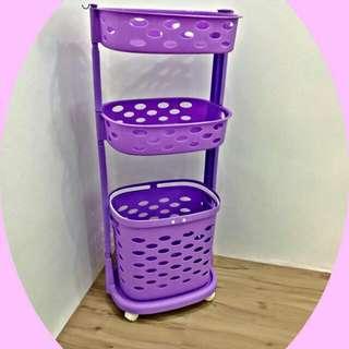 KOREAN 3 layer laundry basket ready