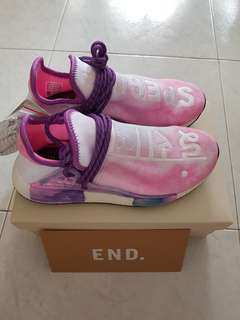 (460 for fast deal)Uk7.5 Adidas Pharrell NMD Human race trail Holi Pack
