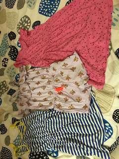 Girls age 6 bundle of dresses