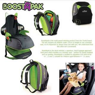 Travel portable toddler car seat
