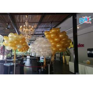 Plain 12'' Latex Helium Balloons