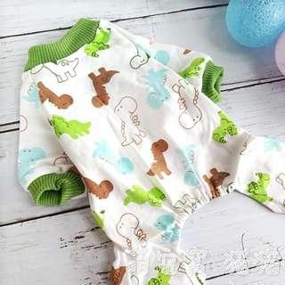 BN Animal Theme Pets Dogs 4 legged PJ Pyjamas Jumpsuit Casual Clothes
