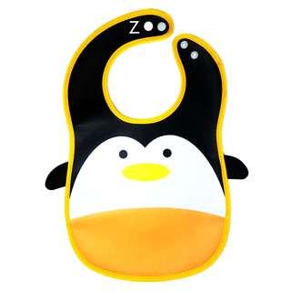 Penguin Animal baby bib