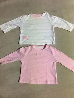 Baby Girl Top long sleve 3-6 months