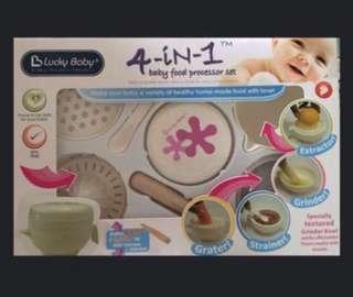 Baby Food Processor Set