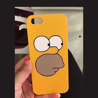 Simpson阿森一族5s se電話殻