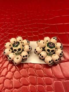 Skull Clips for Accessory 骷髏配飾夾