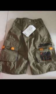 Free mail! 3-4 years brand new with tag short