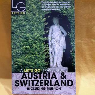 AUSTRIA &SWITZERLAND  TRAVEL BOOK