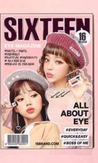 韓國 16 Brand 雙色漸變眼影