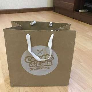 Paperbag colette & lola