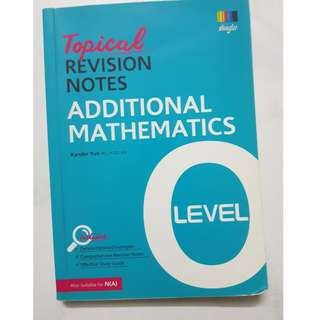 O Level Topical Revision Notes - A Maths